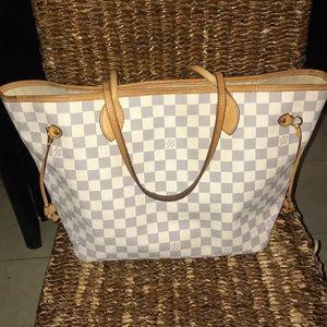 Louis Vuitton Azur Neverfull MM